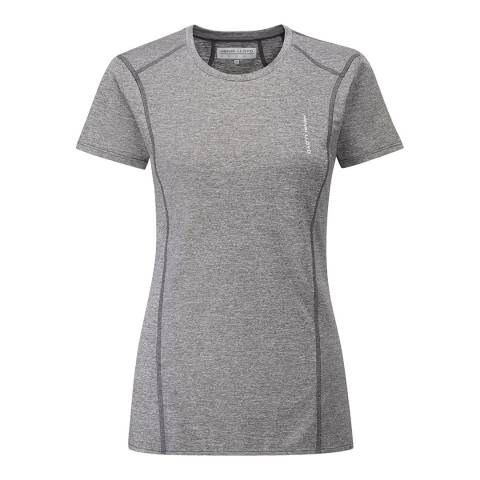 Henri Lloyd Grey Flare Short Sleeve T Shirt