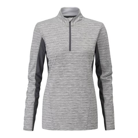 Henri Lloyd Grey Zephyr Long Sleeve Tech Top