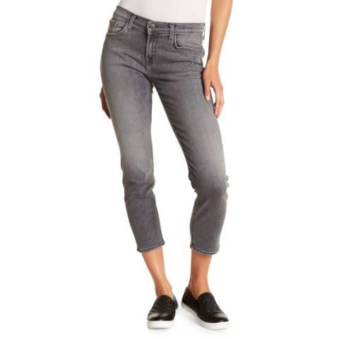 J Brand Earl Grey Sadey Slim Straight Stretch Jeans