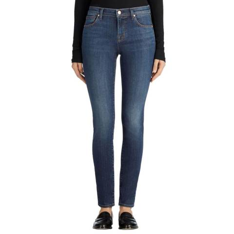 J Brand Fleeting Blue 811 Skinny Stretch Jeans