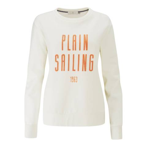 Henri Lloyd Off White Plain Sailing Sweater