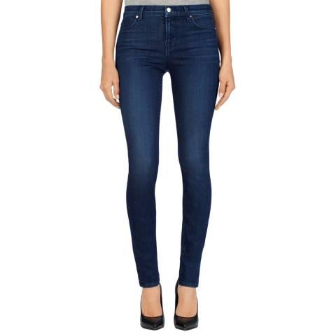 J Brand Blue Fix 620 Super Skinny Stretch Jeans