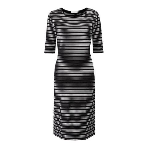 Henri Lloyd Black Stripe Ysabel Dress