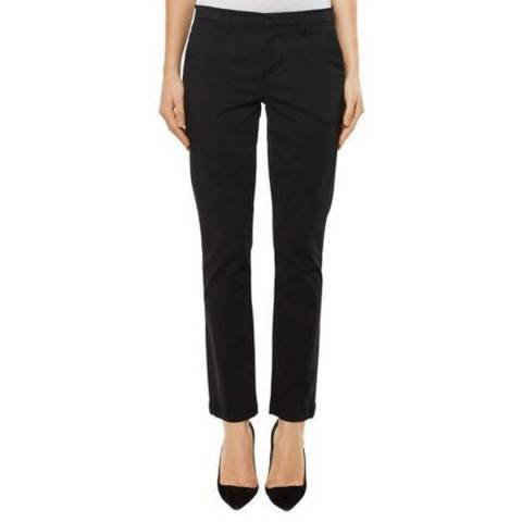 J Brand Black Clara Stretch Trousers