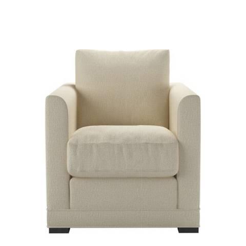 sofa.com Aissa Armchair in Diamond Weave- Wheat Sheaf