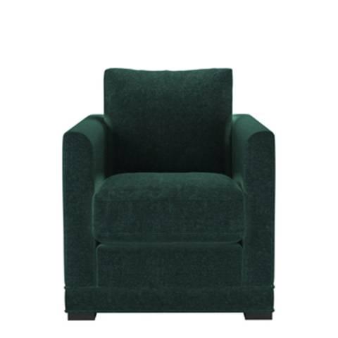 sofa.com Aissa Armchair in Spruce Vintage Chenille