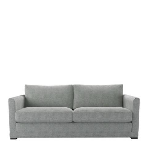 sofa.com Aissa Three Seat Sofa in Rustic Linen Leaf
