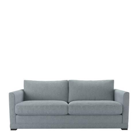 sofa.com Aissa Three Seat Sofa in Textured Cotton Minty