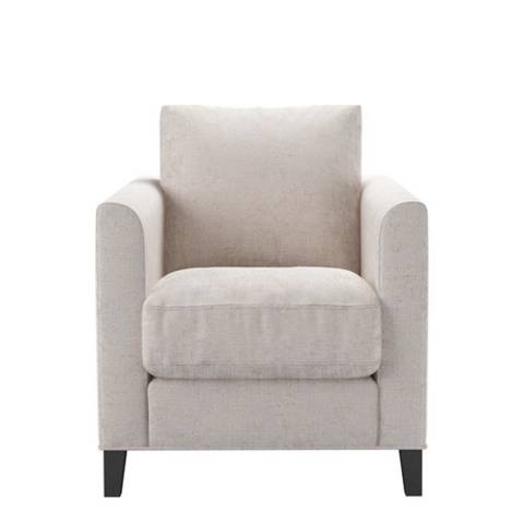 sofa.com Izzy Armchair in Antique Chenille- Rose Gold