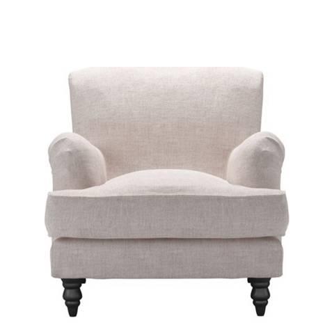 sofa.com Snowdrop Armchair in Chelsea Linen- Petal