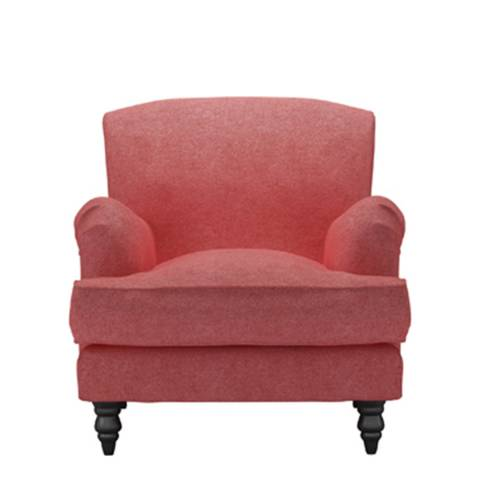 sofa.com Snowdrop Armchair in Flamingo Soft Wool
