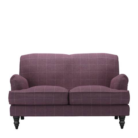 sofa.com Snowdrop Two Seat Sofa in Elderberry Celtic Check