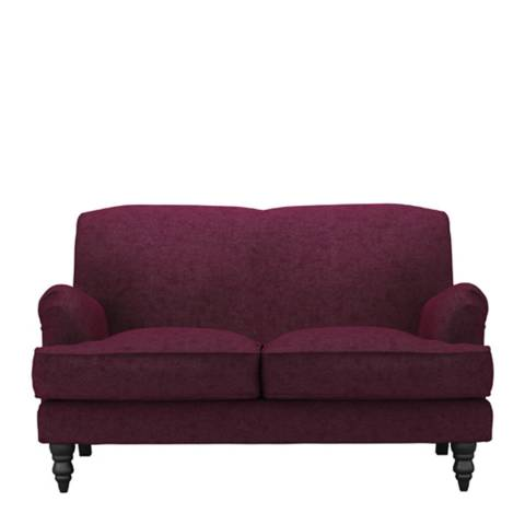 sofa.com Snowdrop Two Seat Sofa in Oxblood Soft Wool