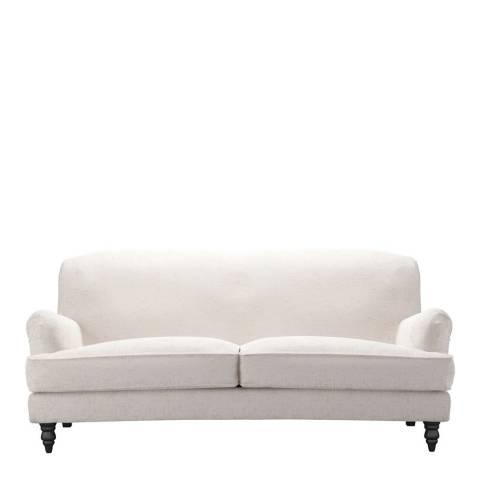 sofa.com Snowdrop Three Seat Sofa in Antique Chenille- Rose Gold
