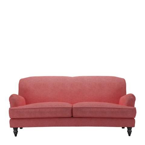 sofa.com Snowdrop Three Seat Sofa in Flamingo Soft Wool