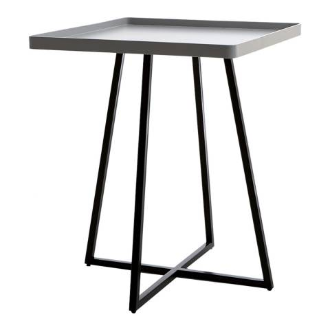 sofa.com Brando Side Table With Grey Top