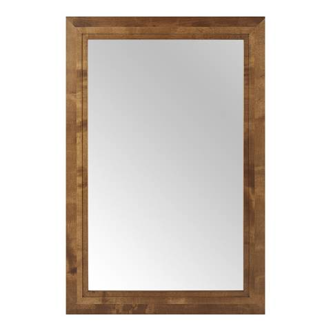 sofa.com Marylebone Large Wall Mirror With Walnut Finish Frame
