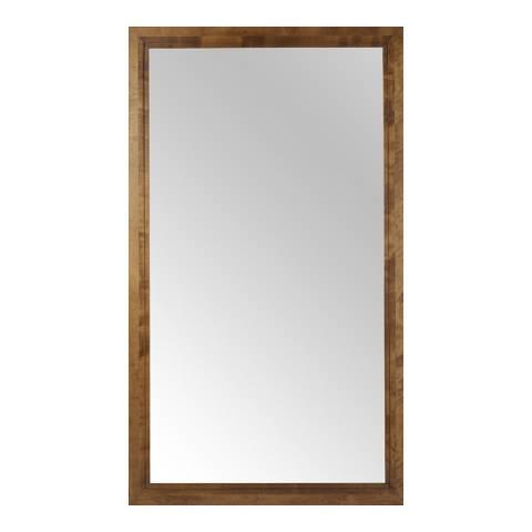 sofa.com Marylebone Floor Mirror With Walnut Finish Frame
