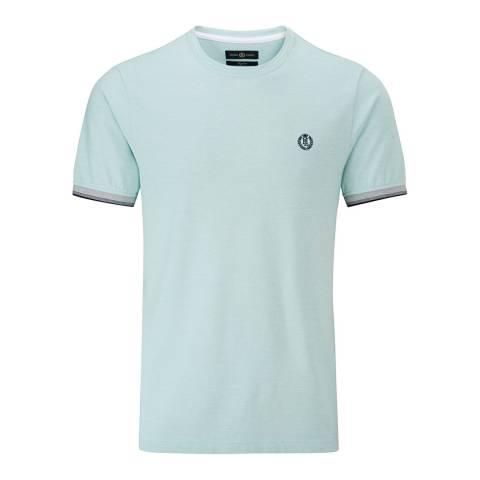 Henri Lloyd Turquoise Lackan Oxford Pique T-Shirt
