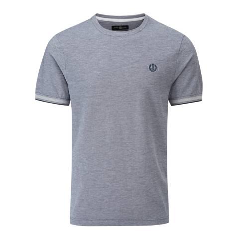 Henri Lloyd Navy Lackan Oxford Pique T-Shirt
