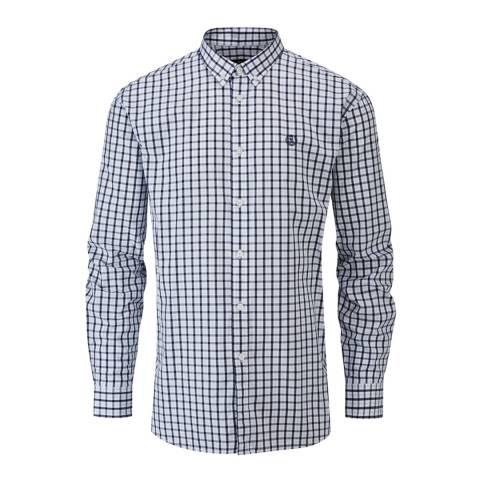 Henri Lloyd Navy/White Uton Classic Check Shirt