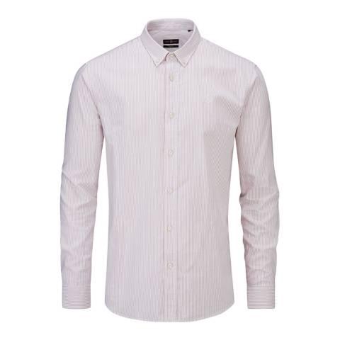 Henri Lloyd Pink/White Howard Club Regular Shirt