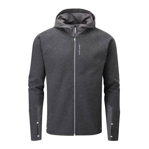 Henri Lloyd Dark Grey Kinetics Technical Sweat Hoodie