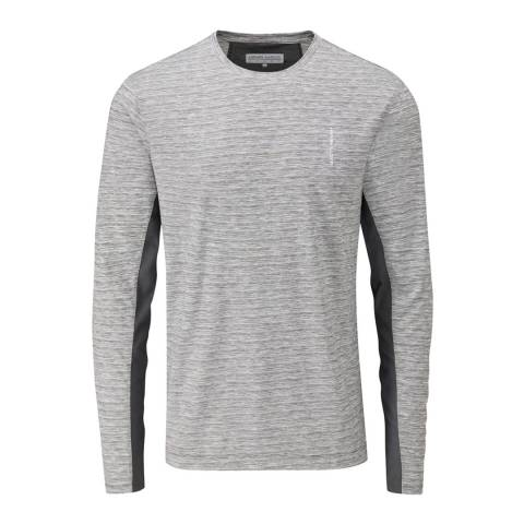 Henri Lloyd Grey Vantage Tech Long Sleeve T-Shirt