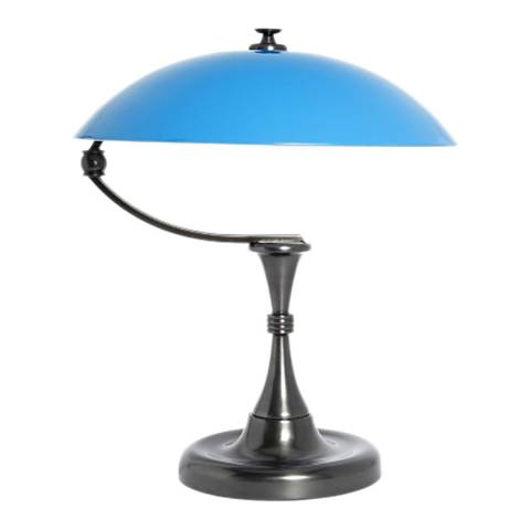 Soho Home Blue Bleecker Table Lamp