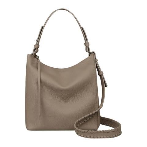 AllSaints Mushroom Grey Kita Crossbody Bag