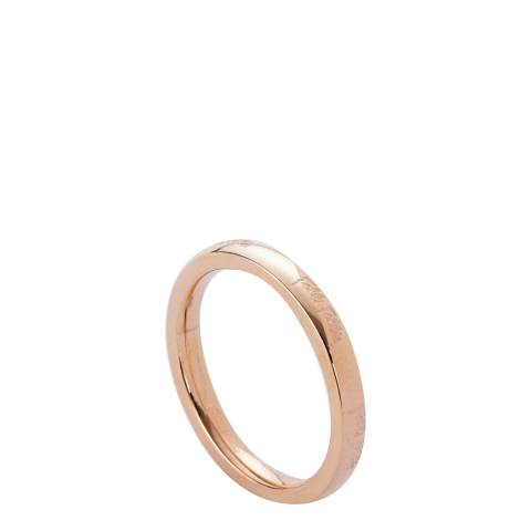 Folli Follie Rose Gold Plated Match & Dazzle Ring