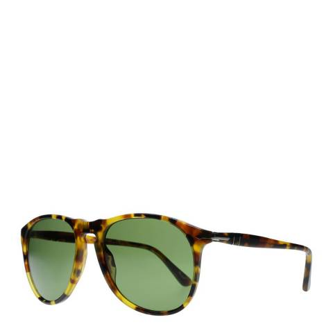 Persol Leopard Brown/Green Unisex Persol Sunglasses