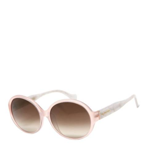 Balenciaga Women's Peach/Gold  Balenciaga Sunglasses