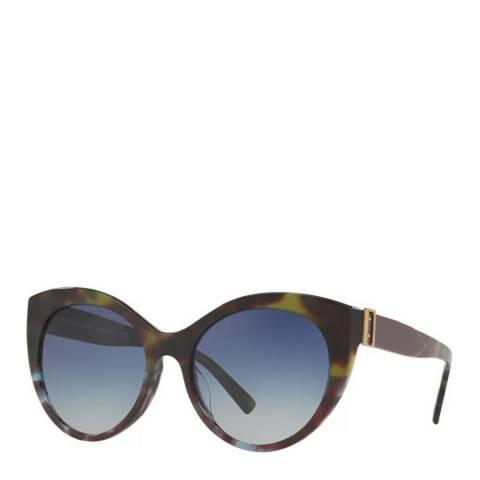 Burberry Women's Tortoise/Green Burberry Sunglasses