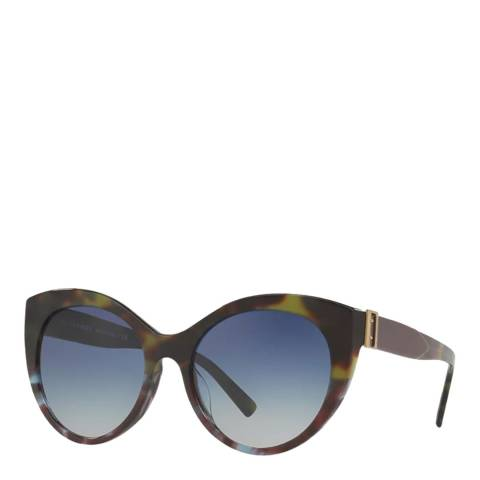 Burberry Women's Tortoise Cat Eye Burberry Sunglasses
