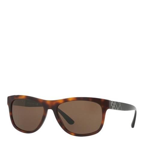 Burberry Unisex Graduated Brown Burberry Sunglasses