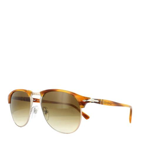 Persol Unisex Green Graduated Brown Persol Sunglasses