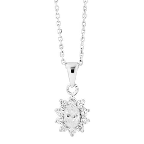 Wish List Silver Necklace With Pendant