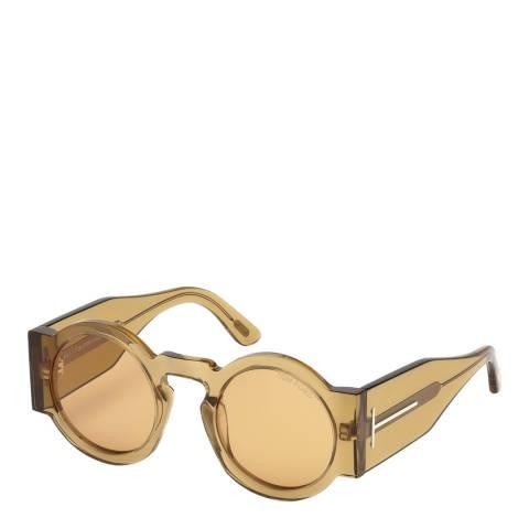 Tom Ford Women's Brown Crystal Tatiana Sunglasses 47mm