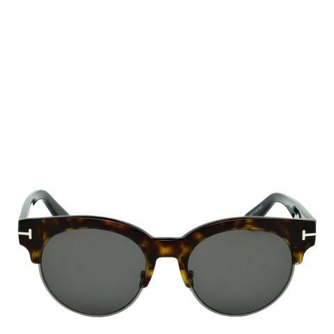 Tom Ford Women's Dark Havana Henri Sunglasses 50mm