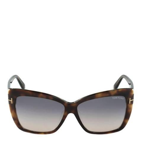 Tom Ford Women's Blonde Havana Irina Sunglasses 59mm