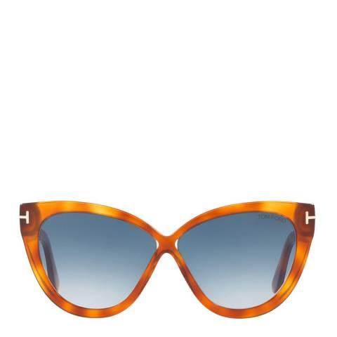 Tom Ford Women's Blonde Havana Arabella Sunglasses 59mm