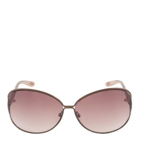 Tom Ford Women's Shiny Bronze Clemence Sunglasses 65mm