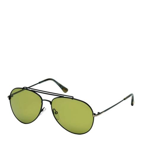 Tom Ford Women's Black Indiana Sunglasses 58mm
