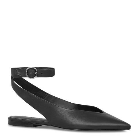 AllSaints Black CORY Flats