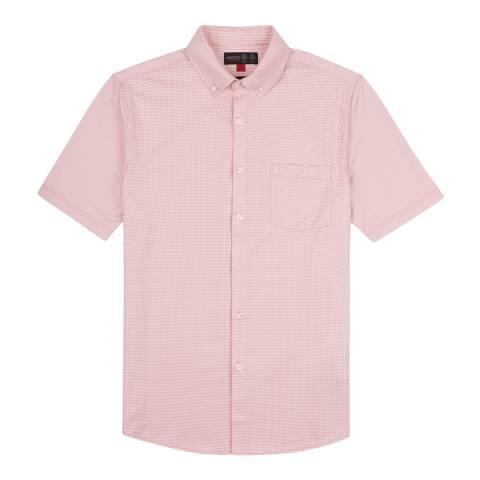 Musto Pink Effortless Short Sleeve Shirt