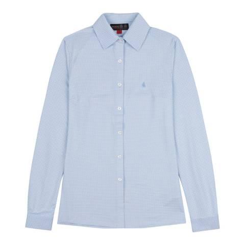 Musto Blue Effortless Long Sleeve Shirt