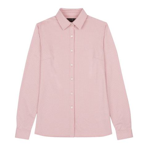 Musto Pink Effortless Long Sleeve Shirt