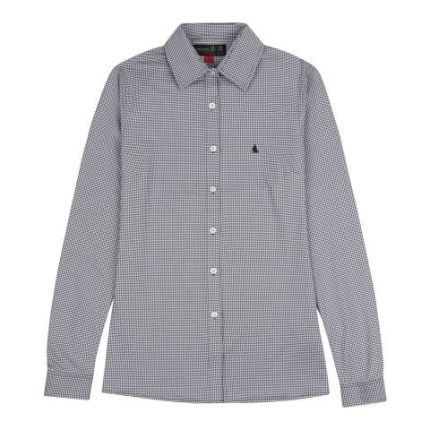 Musto Navy Effortless Long Sleeve Shirt
