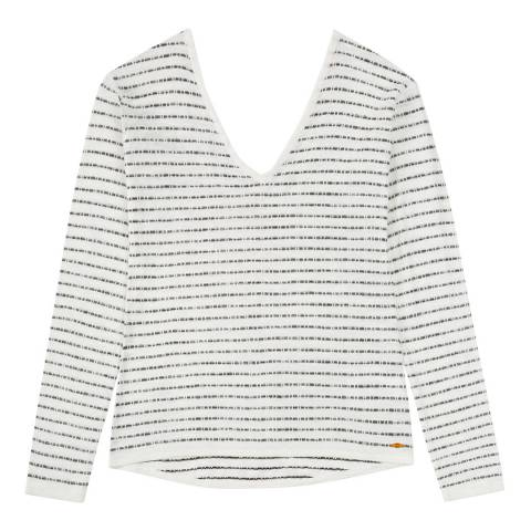 Musto Women's White Beach Stripe Knit